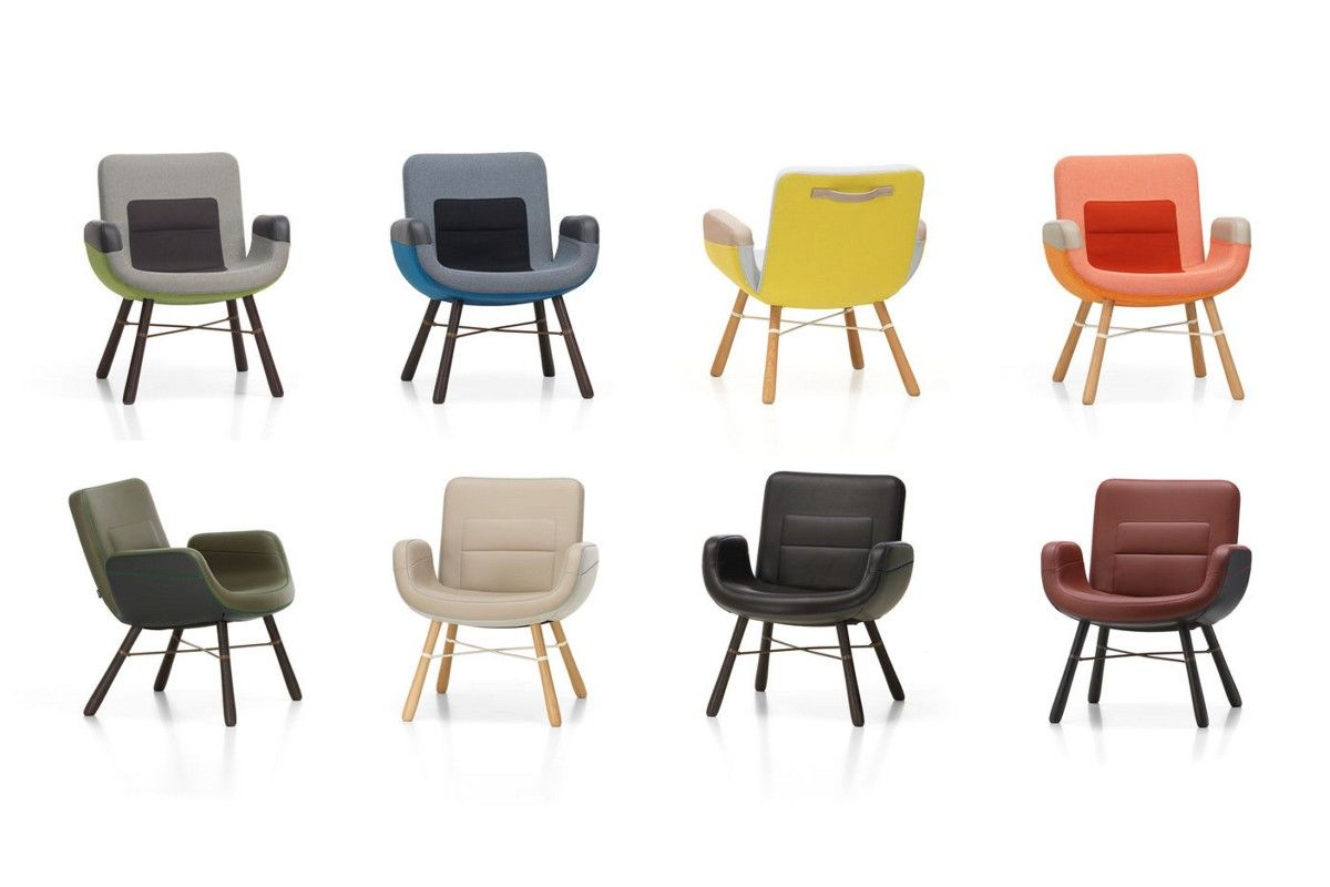 Poltrona East River Chair Vitra