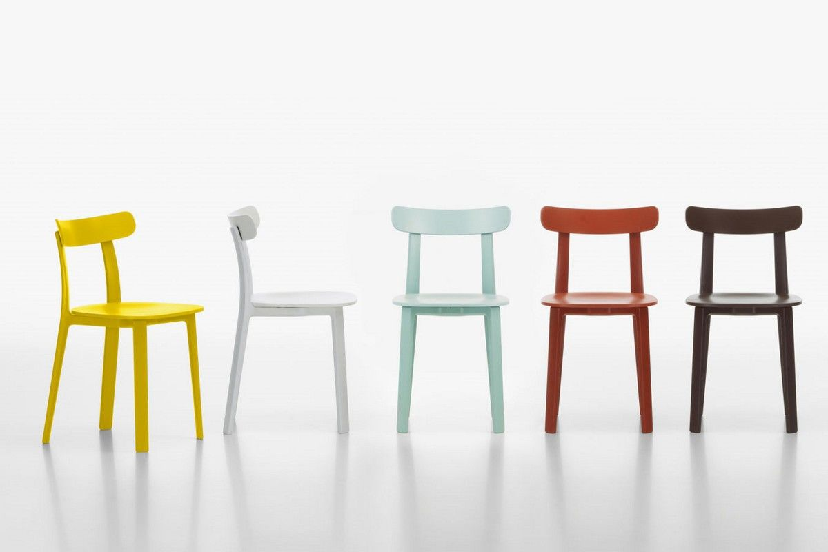 Sedia Vitra All Plastic Chair