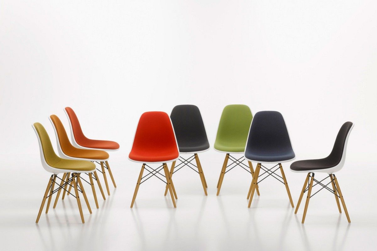 Sedia Vitra Eames Plastic Side Chair