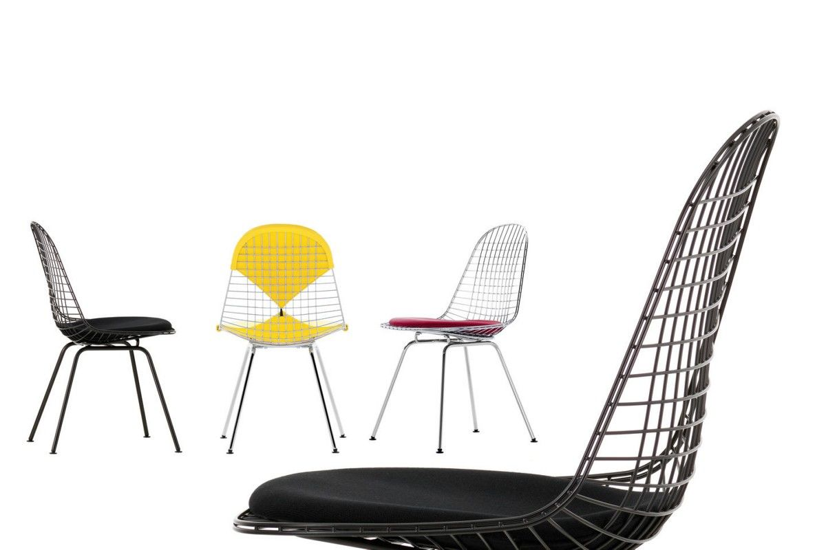 Sedia Vitra Wire Chair